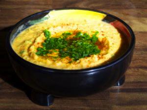 Dish of Hummus