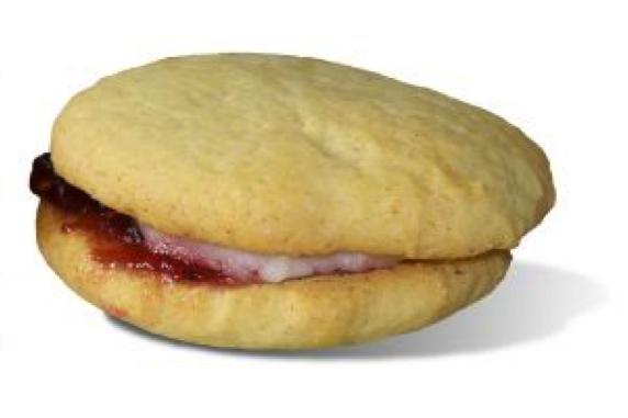 low-fat honey cookies