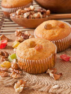 Pumpkin Raisin Muffins
