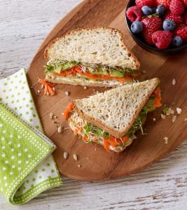Gluten Free Veggie Millet-Chia Sandwich - Udi's Gluten Free