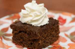Old Fashioned Cake Gingerbread