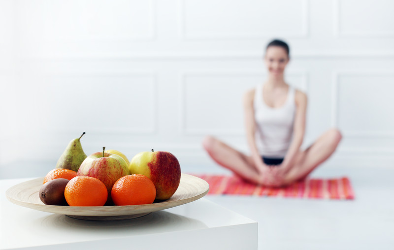 fruit and stretches