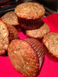 coconut banana muffins