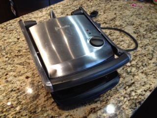 panini press closed from Carrie