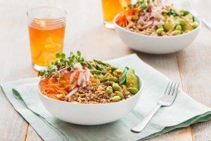 Spring Fling Quinoa Bowl
