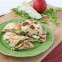 Udis Pear and Bride Quesadillas