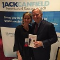Andrea Holwegner with Jack Canfield at CAPS