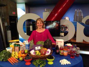 Andrea Howegner interview at Global Calgary for Jugo Juice
