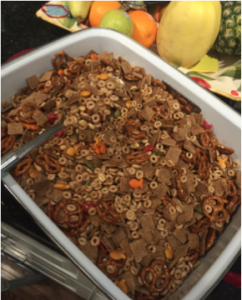 Healthier Nuts & Bolts Snack Mix Recipe