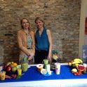 Registered Dietitian Andrea Holwegner shows how to make a healthy smoothie