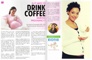 Is it Safe to Drink Coffee During Pregnancy by Andrea Holwegner