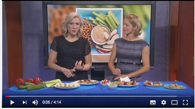 Watch Andrea Holwegner speak about healthy after school snack ideas