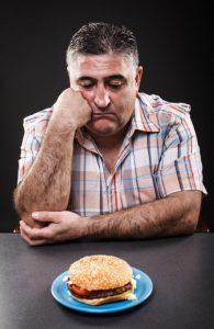 Emotional Eating burger