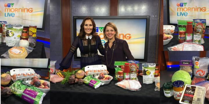 Andrea Holwegner on CTV backup meal plans