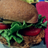 Chickpea burger