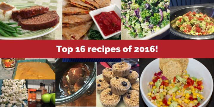 top 16 recipes of 2016