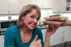 Andrea Holwegner nutrition expert @chocoholicRD
