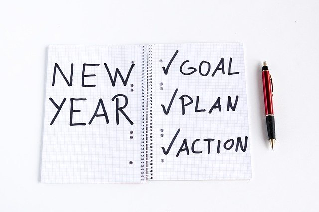 new year's resolution eaeting goals