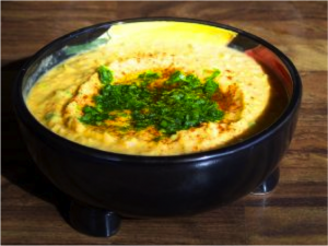 Dish of Hummus