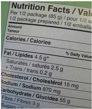 Understand Food Labels