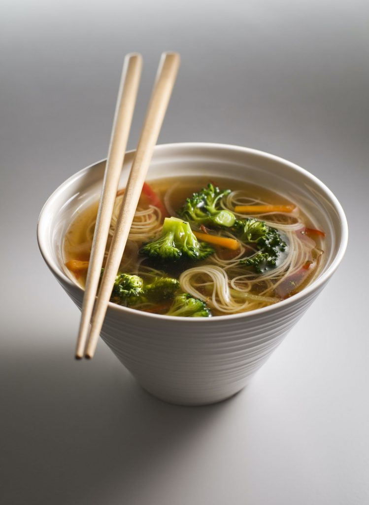 Recipe for Asian Chicken Noodle Vegetable Soup