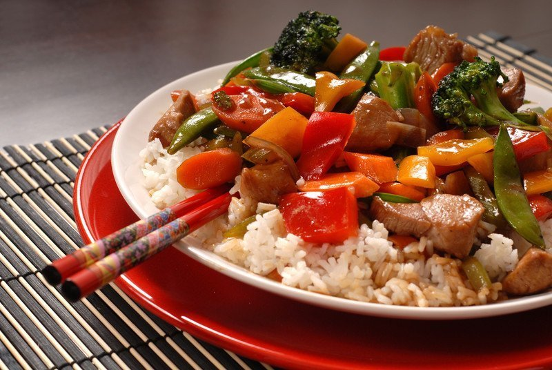 recipe for asian pork stirfy