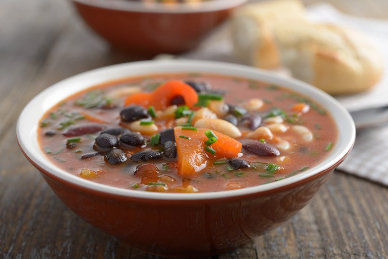 Recipe for black bean soup