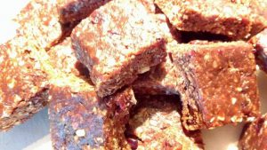 Andrea's award winning cocoa recipe energy bar recipe