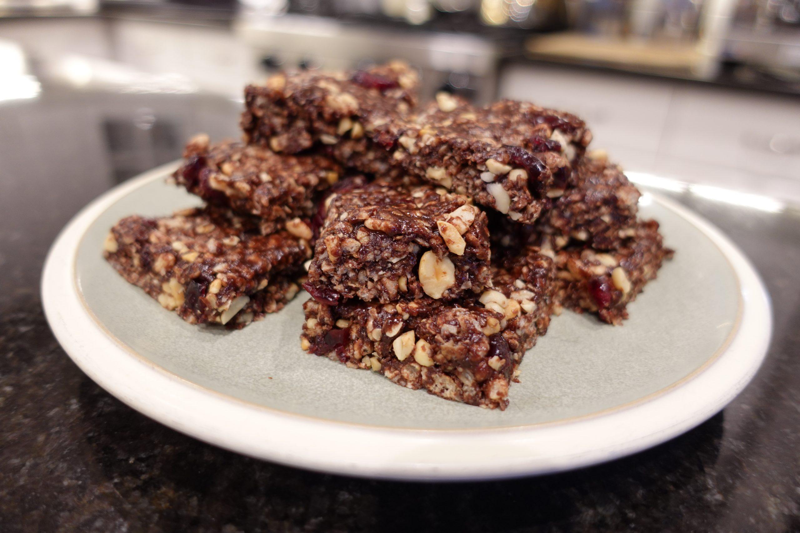 chocolate energy bar recipe