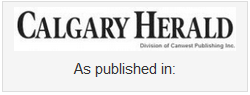 Andrea Holwegner as published in Calgary Herald Newspaper