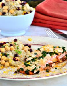almond quinoa