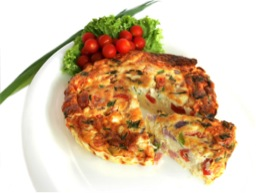 frittata italian red peppers