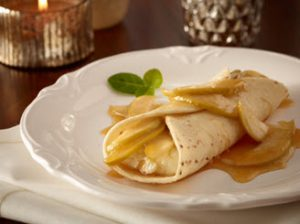 apple crepe carmel