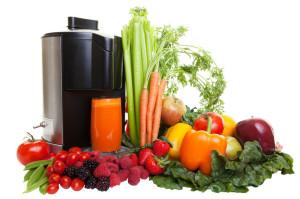 fruit and veggie juicing