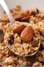 oatmeal and nuts