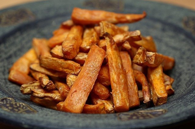Recipe for sweet potato fries