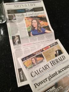 Richelle Tabelon Calgary Herald