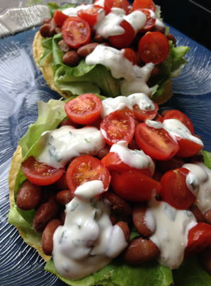 Easy Vegetarian Lunch Toastaa