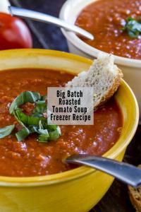freezer tomato soup recipe healthy