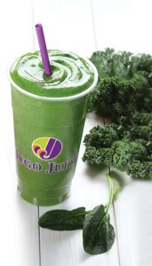 Jugo Juice mighty kale photo