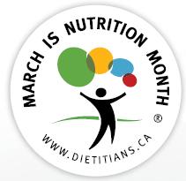 Nutriton month - top canadian dietitians
