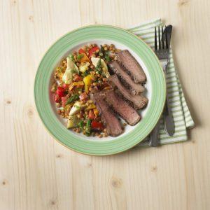 beef steak and lentil salad recipe