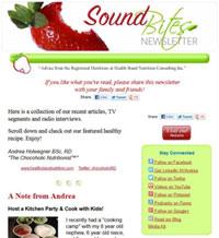 Sound Bites Online Newsletter