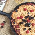 Baked Berry Oatmeal: Top Registered Dietitian Recipe