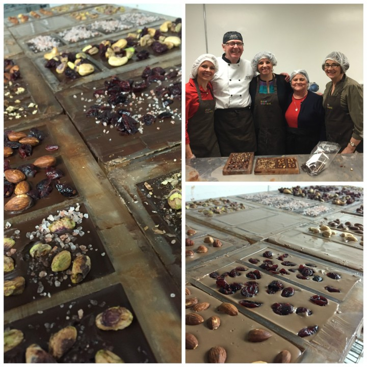 HSN chocoholic nutritionists and their chocolate masterpieces