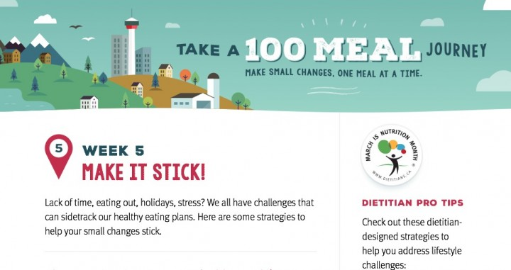 Nutrition Month Week 5 Make It Stick