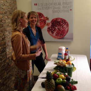 Registered Dietitian Andrea Holwegner discusses how to make a smoothie for before and after exercise
