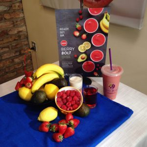 Nutrition Expert Andrea Holwegner shows how to make a healthy smoothie