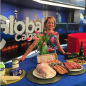 Dietitian Andrea Holwegner discussed the cheese, butter, coconut oil debates on Global Calgary Morning News
