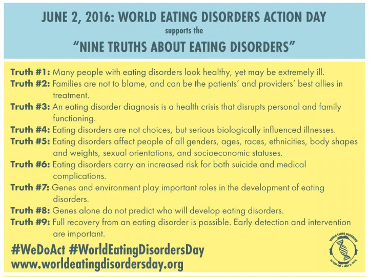 9 truths about eating disorders